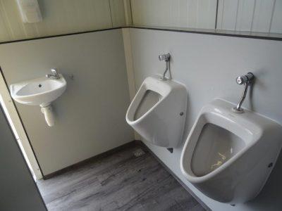 Toiletwagen urinoirs